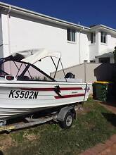 1994 Quintrex Breezabout 4.0M Runabout Caringbah Sutherland Area Preview