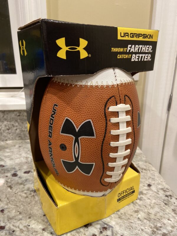Under Armour Spotlight Gripskin Leather game football NFHS OFFICIAL SIZE