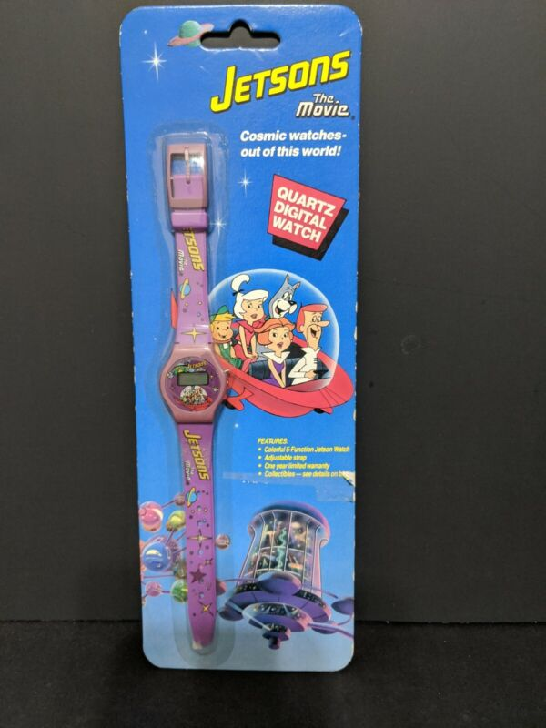 Hanna Barbera Jetsons The Movie Character Digital Watch 1990 Vintage sealed
