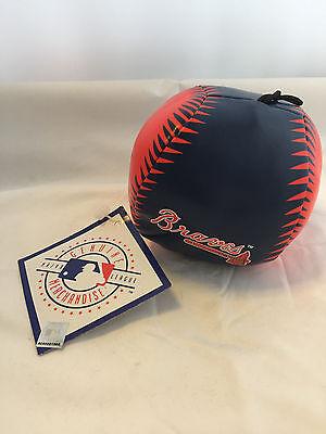 MLB BASEBALL SALE - OFFICIAL ATLANTA BRAVES STRESS BALL / DOG TOY - NEW WITH TAG