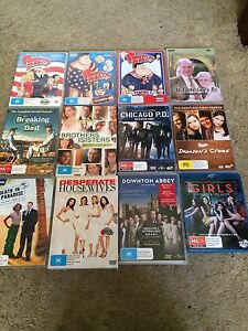 Tv series. $10 each. Hope Valley Tea Tree Gully Area Preview
