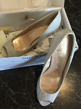 Sz9 Betts Majesty Silver High Heels (Brand New) Chirnside Park Yarra Ranges Preview