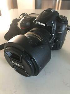 Nikon D7000 SLR Camera Body and AF-S DX 18-200mm Lens
