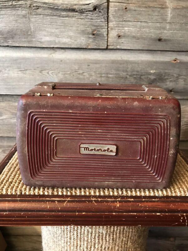 Vintage Motorola 5A7A Lunchbox Radio
