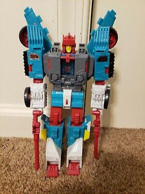 Transformers Titans Return Quickswitch Chaos On Velocitron TR Hasbro complete