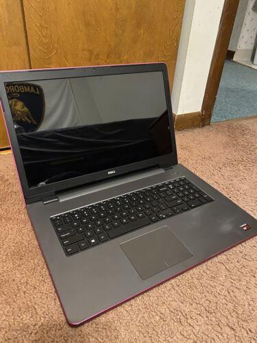 """Laptop Windows - Dell Inspiron 17.3"""" i17-5755 AMD Quad-Core 12GB DDR3 2TB HDD Windows 10"""