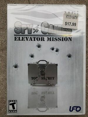 SPY GAMES ELEVATOR MISSION Nintendo Wii Video Game SEALED NEW!