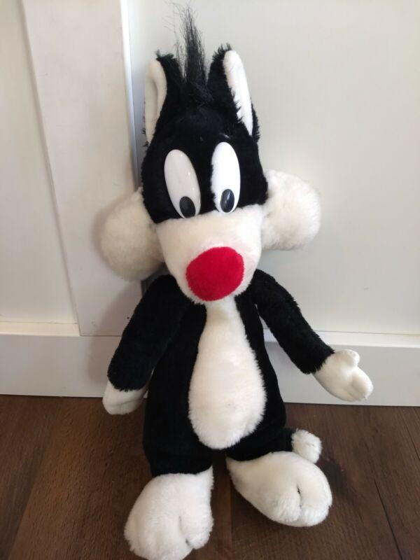 Vintage Warner Brothers Characters Sylvester Plush Stuffed Animal 1990