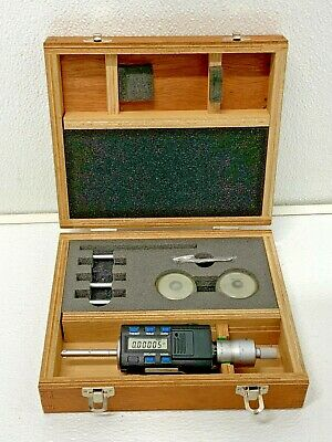Mitutoyo 468-956 Holtest Digimatic Inside Micrometer Set Wrings Case 245c