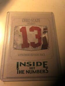 2004 SAGE HIT Inside the Numbers Emerald Ohio St. Running Back/(Maurice Clarett)