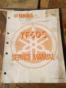 1985 Yamaha YF60S Service Manual