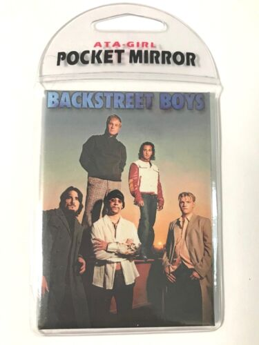BACKSTREET BOYS - 2001 ATA-GIRL Pocket Mirror, NEW - UNUSED!!
