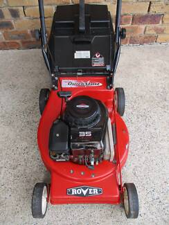 BRIGGS STRATTON 4 STROKE ROVER SERVICED LAWN MOWER.