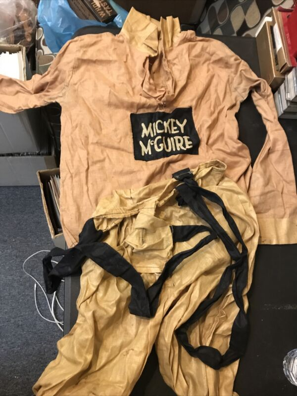 Vintage Mickey McGuire Halloween Costume 1930s-1940s Shirt And Pants