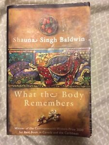 What The Body Remembers - Novel