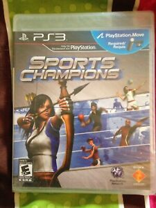 Brand New Still Factory Sealed PS3 Sports Champions