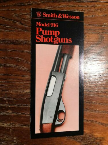 1979 Smith and Wesson Model 916 Sales Brochure
