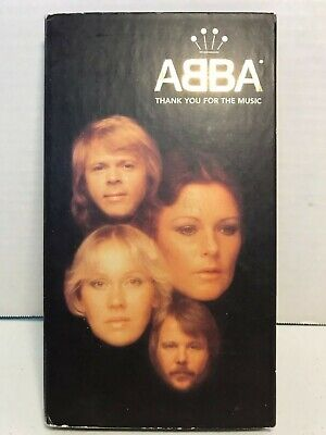Abba - Thank You For the Music (Limited Edition 4 CD Box Set 1994) missing book