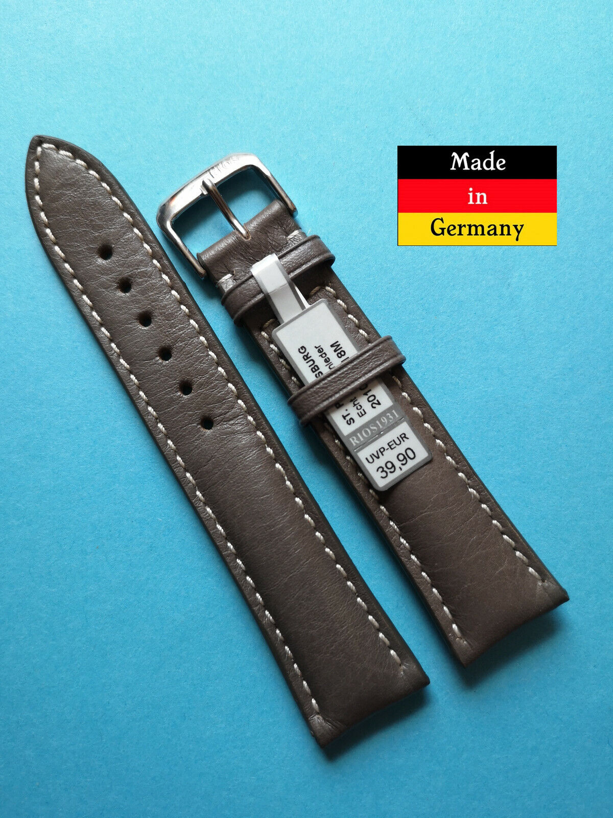Fighter Watch Band Grey 0 2532in Suitable for Sinn Made in Germany