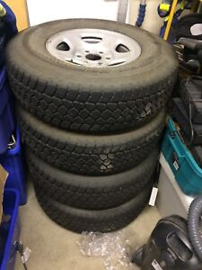 *REDUCED* toyo open country winter tires on rims