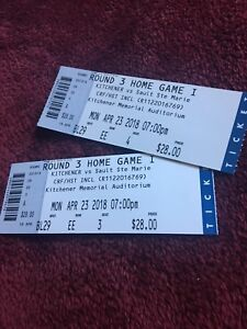 Rangers tickets 2 for $30