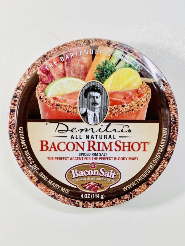 Demitris All Natural Bacon Rim Shot Spiced Rim Salt 4 oz