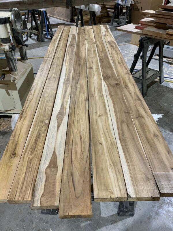 10 Board Feet of Beautiful Plantation Teak Lumber Free Shipping!