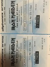 Iron maiden tickets for Sydney show 6th may 2016 Cowaramup Margaret River Area Preview
