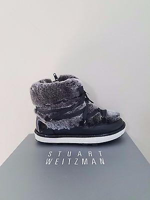 Stuart Weitzman Kids Ariana Snow Boot Size 1 NEW NIB