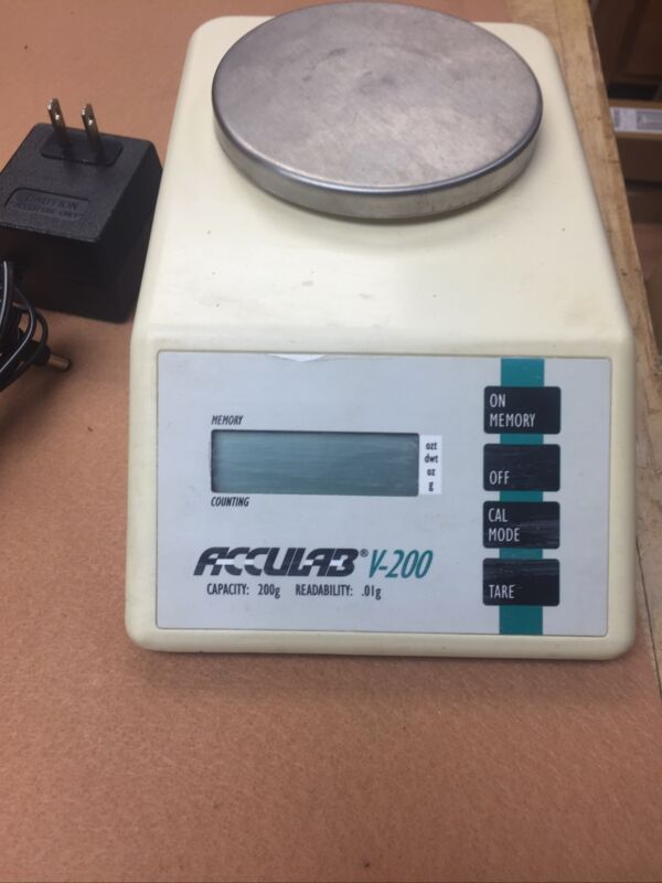 Acculab V-200 Digital Electronica Scale