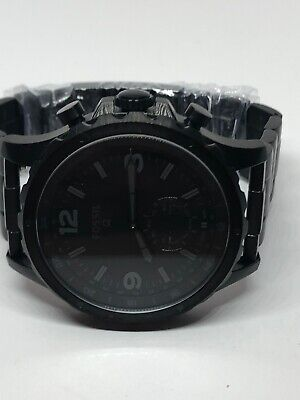 Fossil Q FTW1115 Men's Stainless Steel Analog Black Dial Hybrid Smartwatch LB151