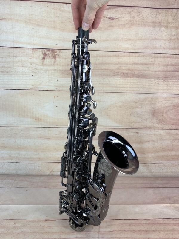 Cannonball Big Bell Stone Series Alto Saxophone Black Nickel Silver