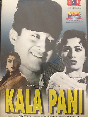Kala Pani  Dvd  Eros International  Hindu Language  English Subtitles  New