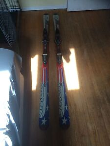 Atomic LIMITED EDITION 2002 USA OLYMPIC SKIS GREAT ONDITION