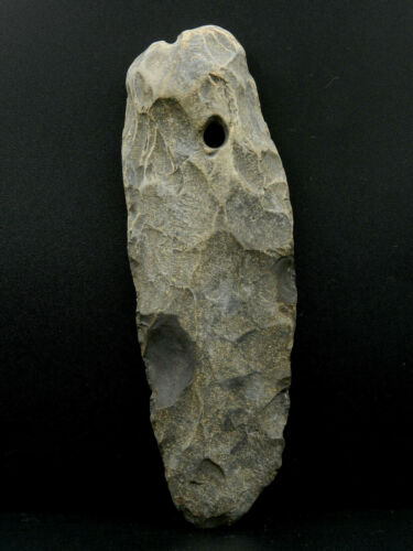 NEOLITHIC * Big FLINT Pendant  - 170 mm long - SAHARA