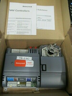 Honeywell Pvb4022as Spyder Series 3 Programmable Vav Controller W Actuator