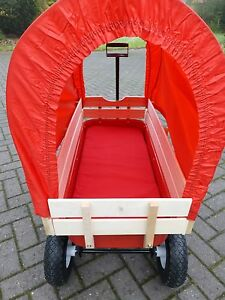 Wagon Canopy- kit to fit cover to Retrowagen pull along cart flyer trolley radio