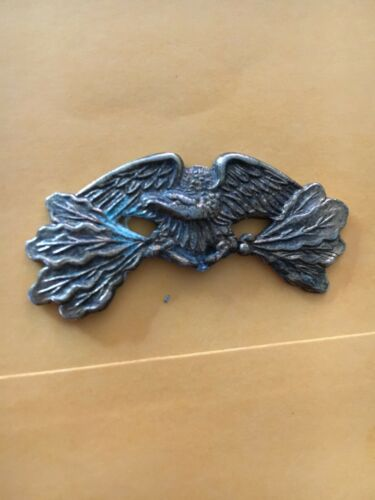 "Badge Repair Part Gold Color Eagle Top 2"" with Oak Leaves"