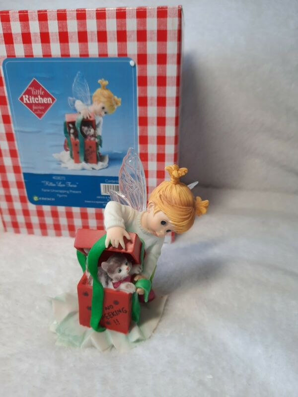 Enesco My Little Kitchen Fairies Kitten Love Christmas Present