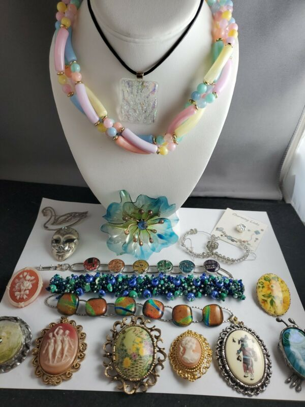 Vintage Lot Jewelry All Wearable