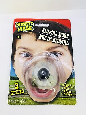Mouse Rat Zoo Animal Nose Elastic Band Child Costume Accessory Mighty Mask](Animal Noses Masks)