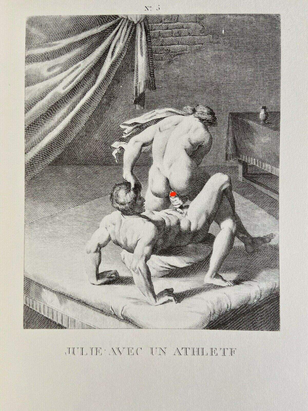 A. Carracci Erotic Penis Vagina Julia Domna Rom Antike Mythology Sex Art 1600