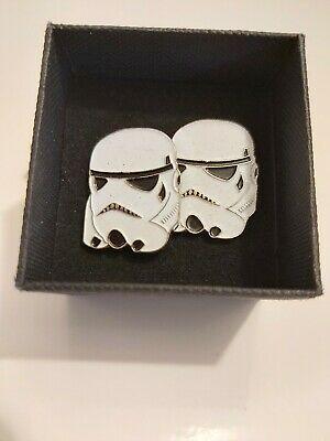 Stormtroopers Star Wars Cufflinks Box Gift Set Cuff Links (New) Comes Boxed