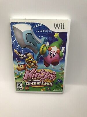 Kirby's Return to Dream Land  (Nintendo Wii, 2011)-excellent Condition!!!