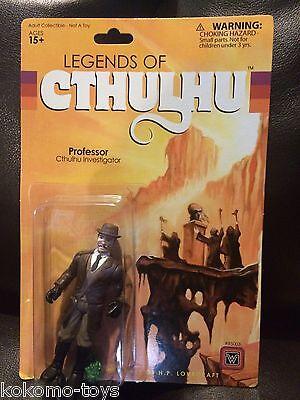 "2015 Warpo Legends of Cthulhu PROFESSOR 4"" Inch 1:18th Scale Toy Art Figure MOC"