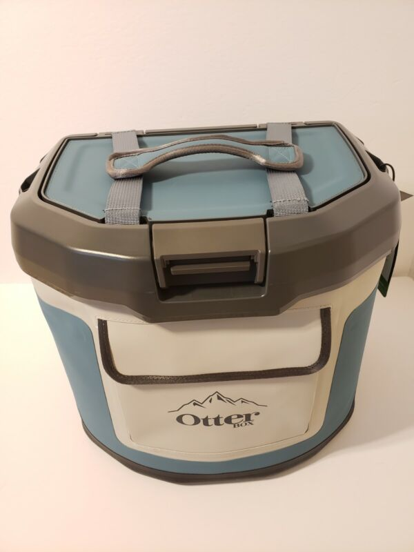 OtterBox Trooper IP66 Leakproof Seal 12 Quart Insulated Cooler, Blue NEW