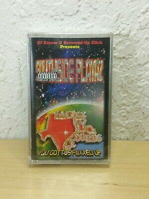 Dj screw southside playaz u gottus fuxxed up texas gangsta rap cassette tape 98