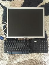 Samsung Monitor & Dell Keyboard Walliston Kalamunda Area Preview