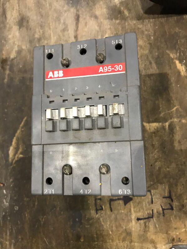 ABB Contactor A95-30 125 Amp 110 120 Volt Coil