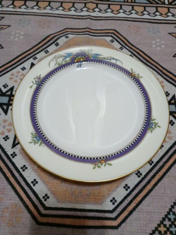 "4 Florida by Lenox Bone China Dinnerware Plates 9"" Birds"